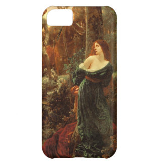 Chivalry [Sir Frank Dicksee] iPhone 5C Case