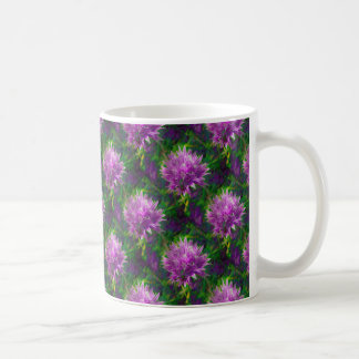 Chive Flower Mug