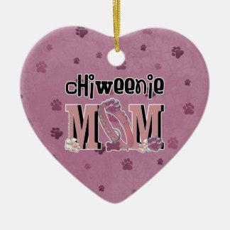 ChiWeenie MOM Christmas Ornament