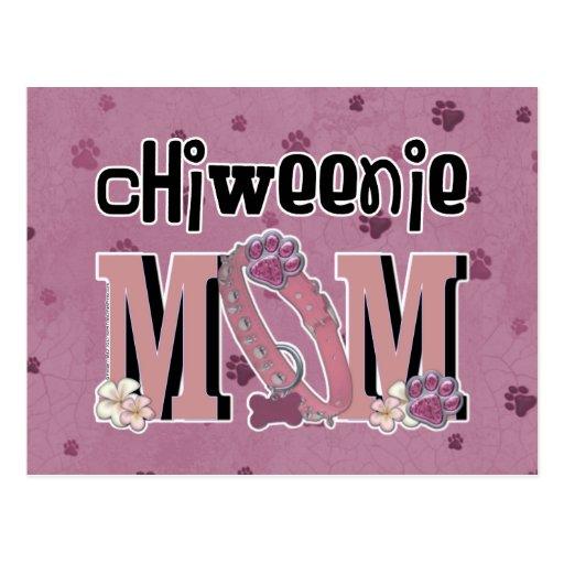 ChiWeenie MOM Post Card