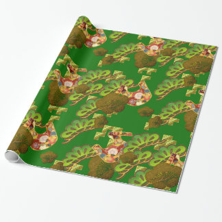 Chiyogami-Washi Styled wrapping paper