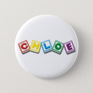 Chloe 6 Cm Round Badge