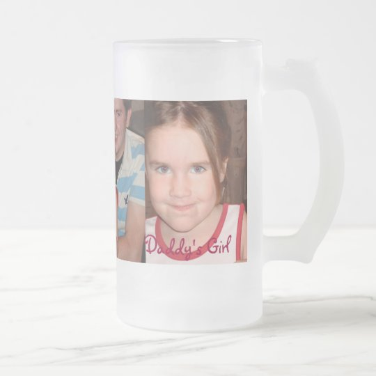Chloe Angel - Customised Frosted Glass Beer Mug