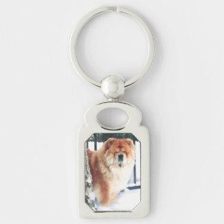 CHLOE heARTdog chow Key Ring