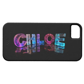 Chloe- Popular Girls Names in 3D Lights Case For The iPhone 5