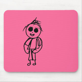 Chloe's Drawings Gift Range Mouse Pad