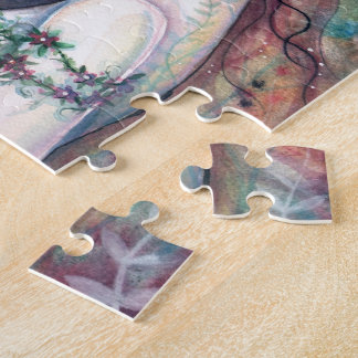 Chloris Goddess of Flowers Puzzle with Tin
