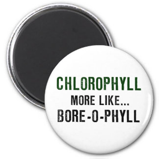 Chlorophyll Bore-o-phyll Refrigerator Magnets