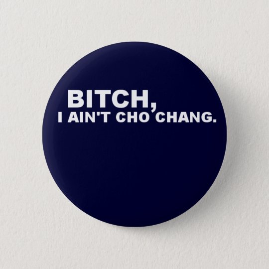 Cho Chang 6 Cm Round Badge