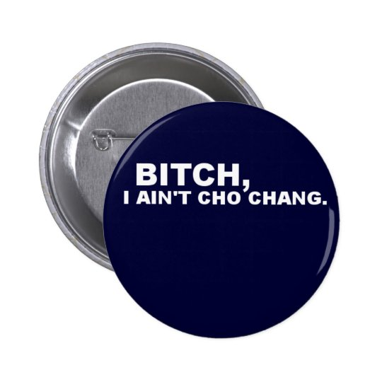 Cho Chang 6 Cm Round Badge