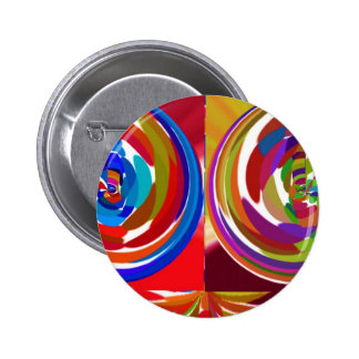 Cho ku ray - Reiki Color Therapy Healing Plate V7 6 Cm Round Badge