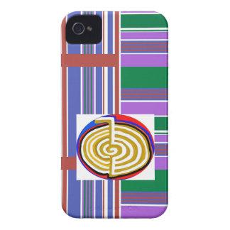 Cho ku rei CHOKUREI Reiki Healing Symbol TEMPLATE Case-Mate iPhone 4 Cases