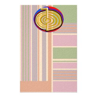Cho ku rei CHOKUREI Reiki Healing Symbol TEMPLATE Personalized Stationery