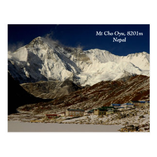 Cho Oyu and Gokyo Postcard