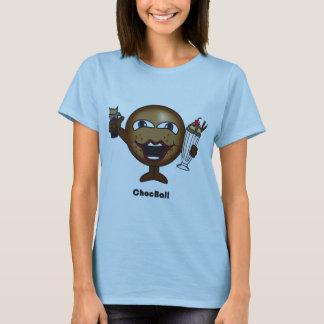 Choc Ball womens t-shirt