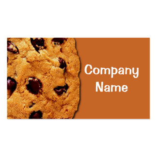 Choc-Chip Cookie Pack Of Standard Business Cards
