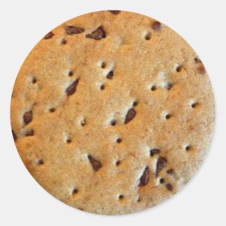 Choc Chip Cookie Round Sticker