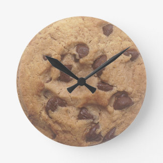 Choc Chip Cookie Wall Clock