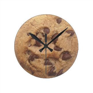 Choc Chip Cookie Wall Clock