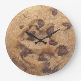 Choc Chip Cookie Wallclock