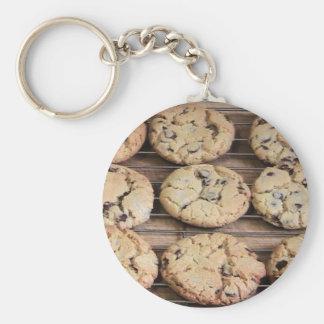 Choc Chip Cookies Keychain