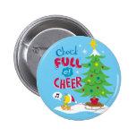 Chock Full Of Cheer 6 Cm Round Badge