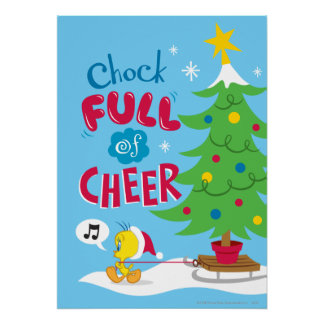 Chock Full Of Cheer Poster
