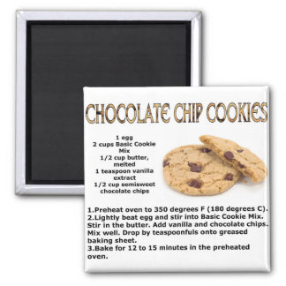 Chocloate Chip Cookies Magnet