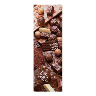 choco bookmark chocolate pack of skinny business cards