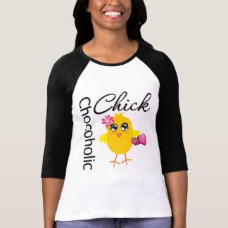 Chocoholic Chick Tees