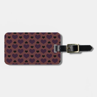 Chocolade Hearts Tag For Luggage