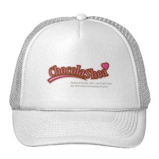 Chocolashea White Cap Mesh Hats