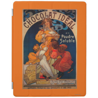 Chocolat Ideal Vintage PosterEurope iPad Cover