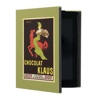 Chocolat Klaus Advertisement Poster iPad Covers