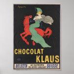 Chocolat Klaus Poster