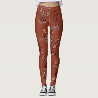CHOCOLAT LOVE LEGGINS LEGGINGS
