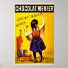 Chocolat Menier Poster
