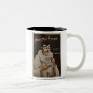 Chocolat Poulain - Goutez et Comparez Two-Tone Coffee Mug