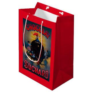Chocolat Suchard Vintage PosterEurope Medium Gift Bag