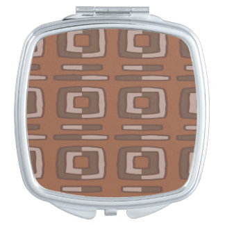 Chocolate Abstract Mirrors For Makeup