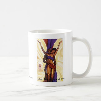 Chocolate and Caramel Love Coffee Mug