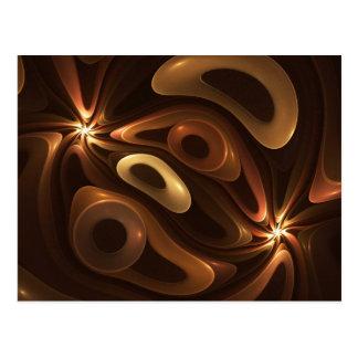 Chocolate and Caramel Post Card