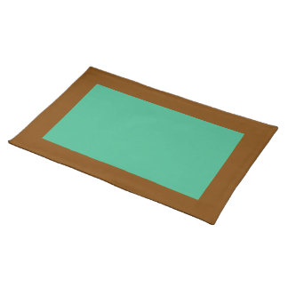 Chocolate and Mint Placemat