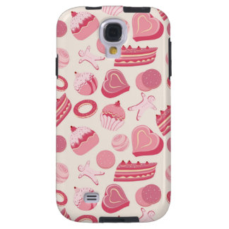 Chocolate and pastries pattern 2 galaxy s4 case