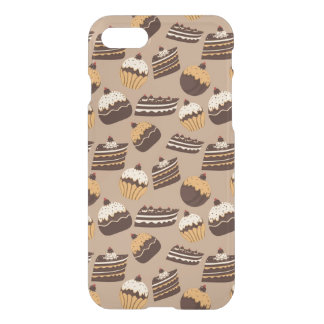 Chocolate and pastries pattern 3 iPhone 8/7 case