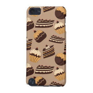 Chocolate and pastries pattern 3 iPod touch (5th generation) covers