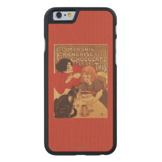 Chocolate and Tea Co Mother and Daughter Carved® Maple iPhone 6 Slim Case