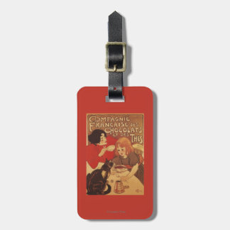 Chocolate and Tea Co Mother and Daughter Luggage Tag