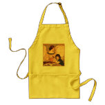 Chocolate Angel Vintage French Candy Poster Apron