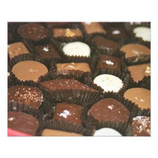 Chocolate assortments photo print